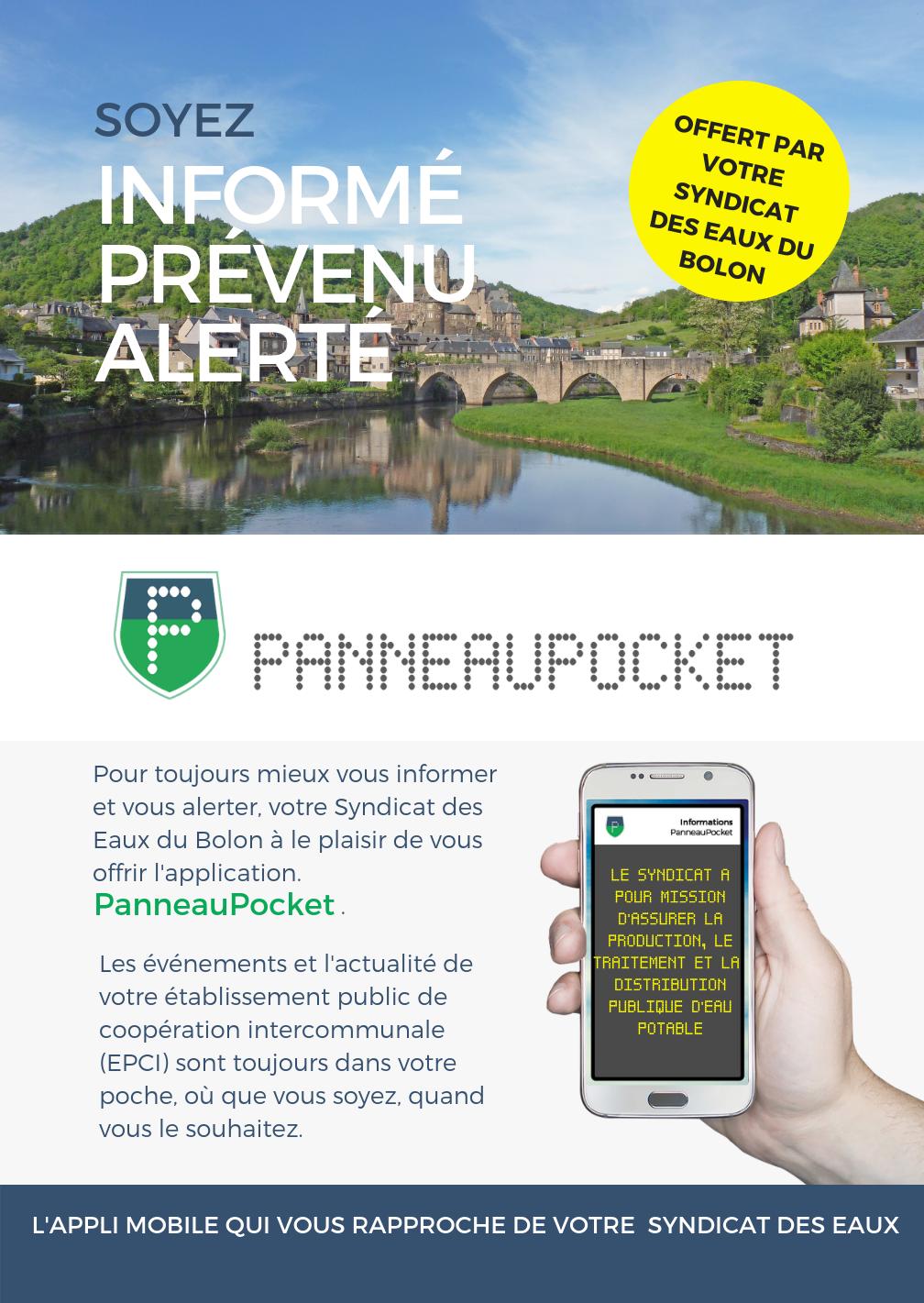 Infos PanneauPocket