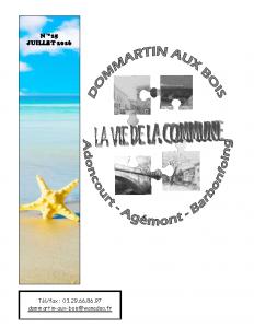 La Vie de la Commune n° 15 – Juillet 2016