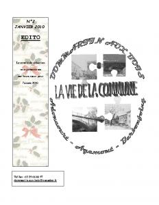 La Vie de la Commune n° 2 – Janvier 2010