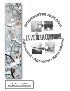 La Vie de la Commune n° 20 – Janvier 2019